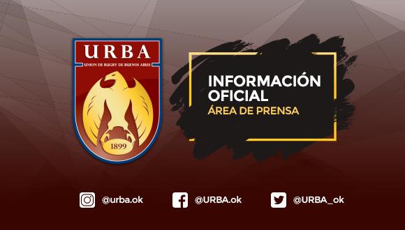 Comunicado de Prensa de la URBA