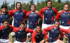 Formación de Las Águilas para enfrentar a Rosario