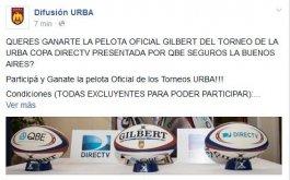 Concurso por la Pelota Oficial Gilbert de la URBA
