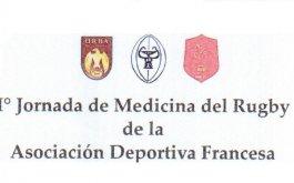 1a jornada de medicina del rugby en Deportiva Francesa