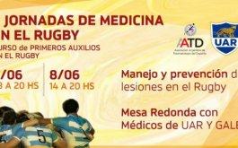 Segunda jornada de medicina en el rugby