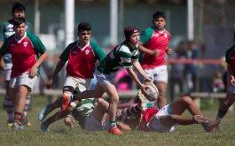 Cobertura fotografica del rugby juvenil
