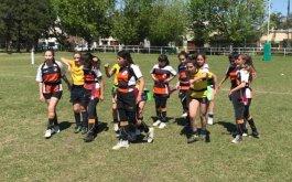 Encuentro de TAG Rugby Juvenil Femenino