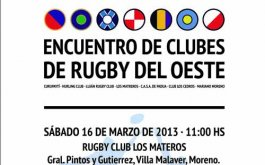 Encuentro de rugby en el oeste