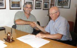 Firma de acuerdo con Flash Indumentaria Oficial de la URBA