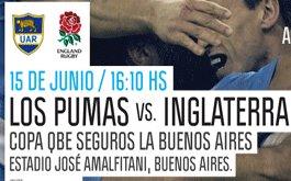 Entradas para Los Pumas vs. Inglaterra