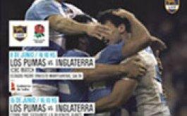 Pumas vs Inglaterra Entradas con cargo para Clubes