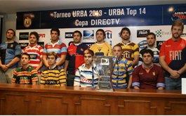 Lanzamiento del URBA Top 14 Copa DIRECTV