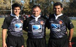 Arbitros para la 2da fecha del Top 14, Copa DIRECTV