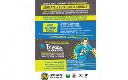 Botines Solidarios en Mendoza