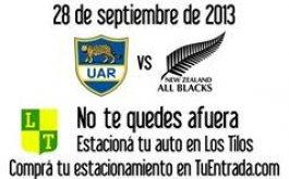 Los Tilos se prepara para recibir la Rugby Championship