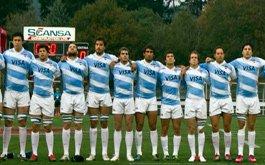 Formacion de los Jaguares para enfrentar a Uruguay