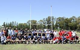 Inauguraron primera cancha de rugby en contexto de encierro