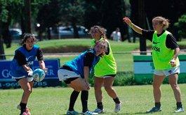 Concentracion del Rugby Femenino en AFA
