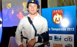 Agustin Gosio distinguido con el Cap URBA 2013