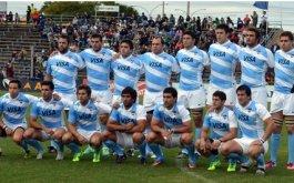 Formacion de Los Pumas vs. Sudamerica XV