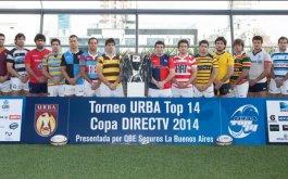 PRESENTACION OFICIAL DEL TORNEO URBA TOP 14 COPA DIRECTV PRESENTADA POR QBE SEGUROS LA BUENOS AIRES