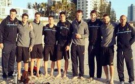 Los Pumas 7s arribaron a Gold Coast