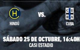 Hindu vs CUBA definen el URBA Top 14 Copa DIRECTV presentada por QBE Seguros la Buenos Aires