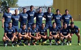 Buen comienzo de Los Pumitas y Argentina XV en la URU Cup 2015