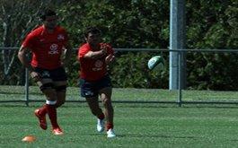 Formacion de Los Pampas para la final vs Fiji