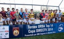 Fixture URBA Top 14 Copa DIRECTV presentada por QBE Seguros La Buenos Aires