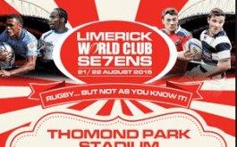 Zonas confirmadas para el Limerick World Club Seven