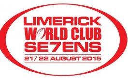 Plantel de Las Aguilas 7s para el World Club Seven de Limerick