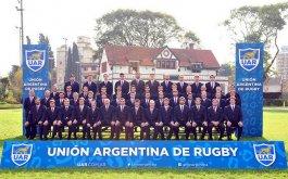 Foto oficial de Los Pumas previa al Mundial 2015
