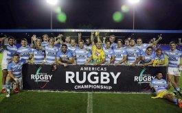 Argentina XV campeon de la Americas Rugby Championship