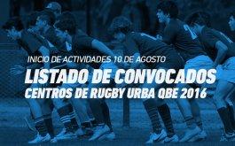 Convocatoria Jugadores Centros de Rugby URBA QBE 2016
