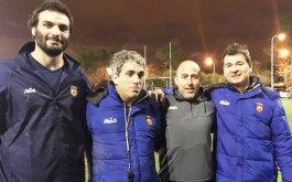 Plantel de Las Aguilas para el Campeonato Argentino de Mayores 2016