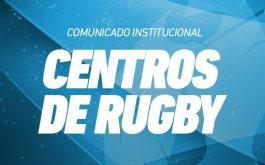 Exitoso inicio de los Centros de Rugby para Jugadores M16