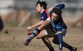 Fotos de una nueva jornada de Rugby Juvenil