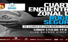 Cuarto encuentro zonal de rugby seguro – Zona Norte y Capital