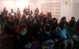 Tercera clinica de rugby femenino en La Plata