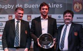 Distincion de la URBA a Juan Martin Hernandez