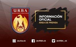 INFORMACION IMPORTANTE: CIERRE DE LA URBA POR REFACCIONES