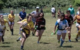 Tag Rugby femenino en San Jose