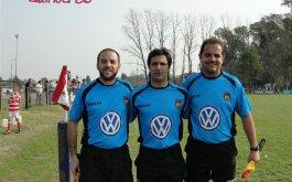Arbitros para la 8vafecha de  la Copa Volkswagen presentada por Claro