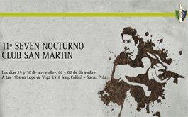 11 Seven Nocturno Club San Martin – Primera jornada