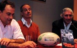 Se presento el libro Leyendas del rugby