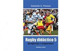 Nuevo libro de Sebastian Perasso: Rugby Didactico 5