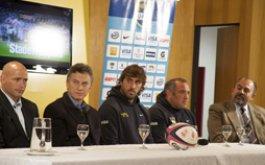 Presentacion de Los Pumas vs. Stade Francais por la Copa Buenos Aires Ciudad