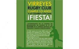 Virreyes celebra sus 10 aniversario