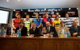 Presentacion del URBA Top 14 Copa DIRECTV presentada por CLARO