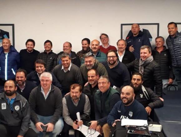 Reunión del CD URBA con clubes de Segunda, Tercera y Desarrollo, en el Club Argentino de Rugby