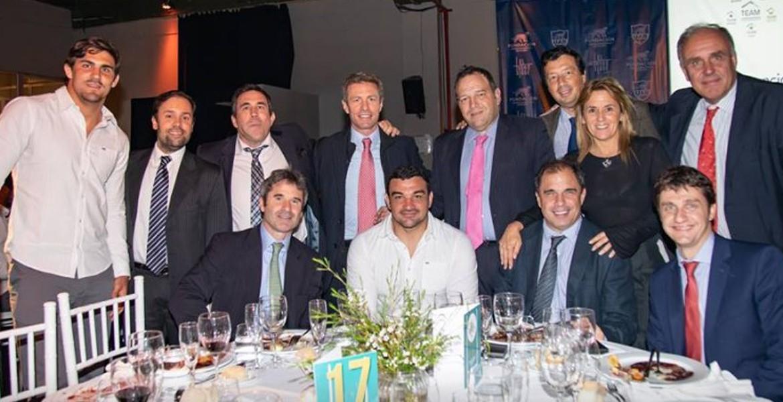 Despedida de Los Pumas en la Cena Anual a beneficio de la FUAR