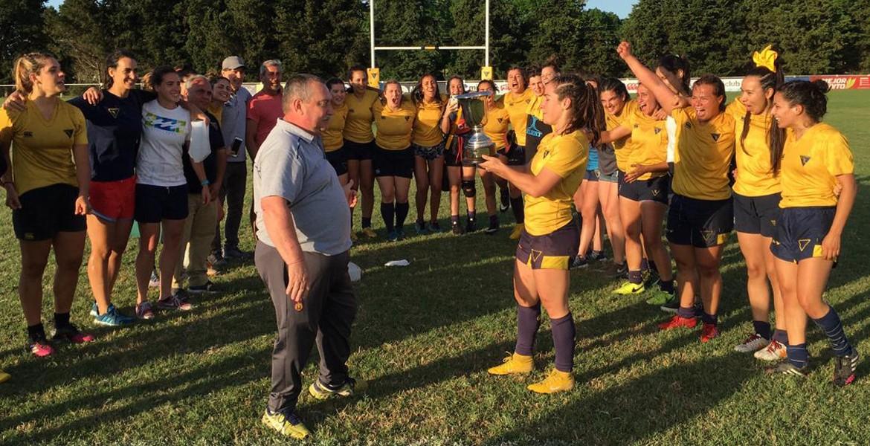 La Plata se quedó con el Seven de Rugby Femenino de la URBA