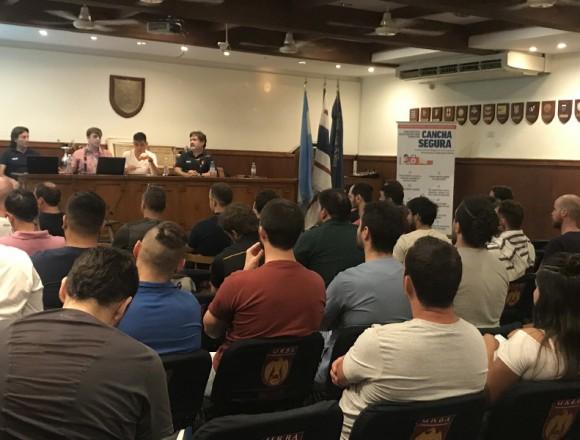 Jornada de Kinesiología en el Rugby en la URBA
